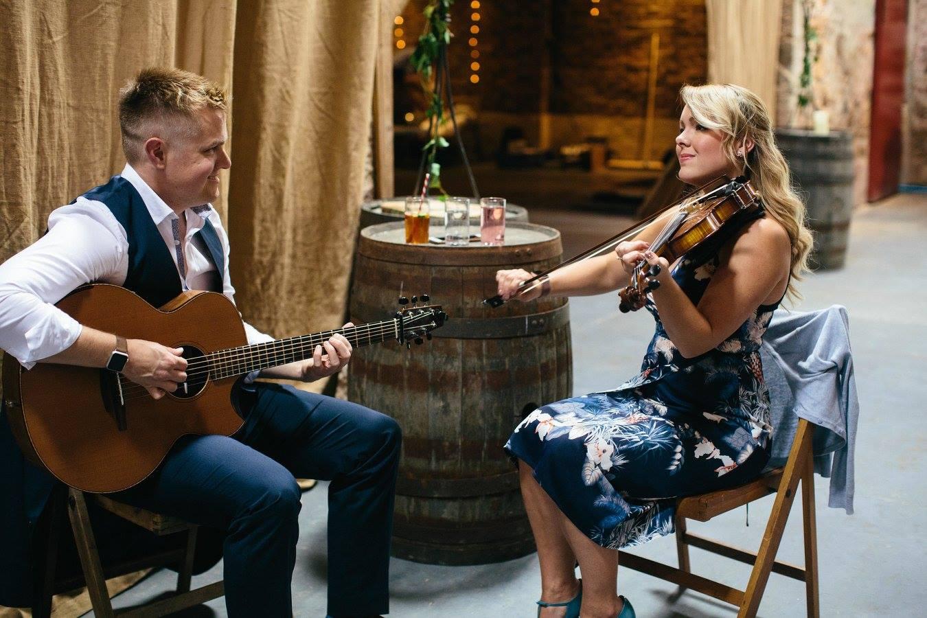 Irish Duo Fiddle Guitar London